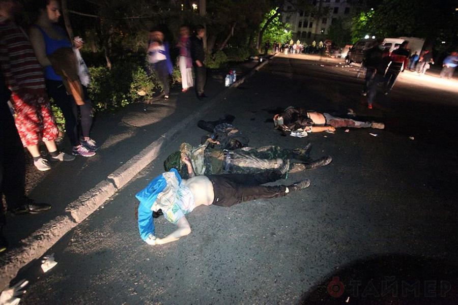 Столкновения в Одессе 2 мая - фотосвидетельства очевидцев