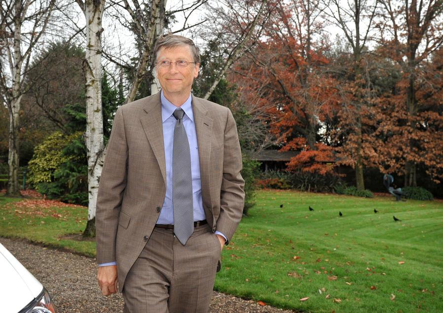 Билл Гейтс даёт своим детям по $10 млн и при этом сам моет посуду