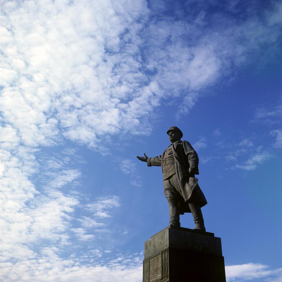 В украинском Кировограде демонтируют памятник Сергею Кирову