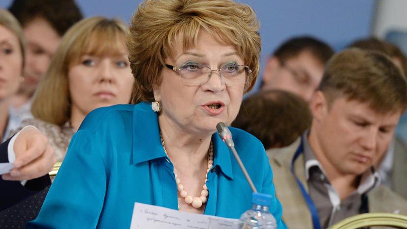 Людмила Швецова: в Народный фронт могут войти физические лица