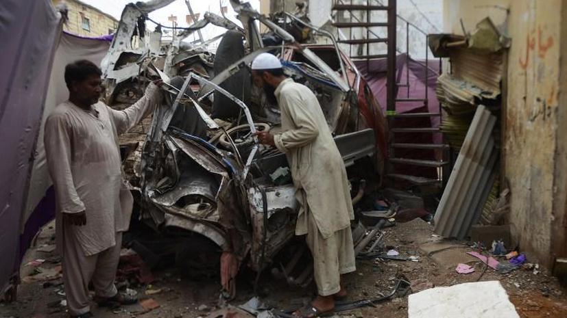 Всплеск насилия наблюдается в Пакистане накануне парламентских выборов