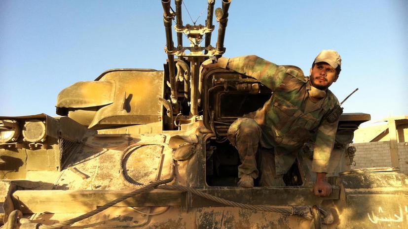Сирийская армия восстановила контроль над городом Эль-Кусейр  в провинции Хомс