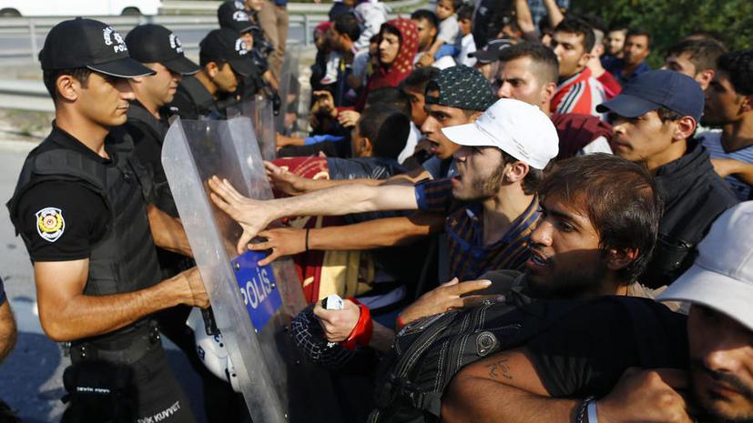 Евростат: Количество прошений об убежище в ЕС за год выросло на 85%