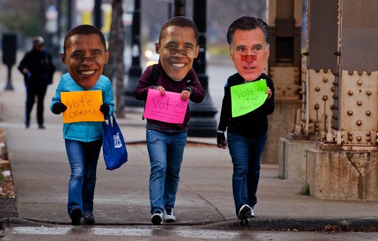 Преступник в маске Митта Ромни ограбил банк в Виргинии