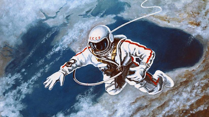 В Лондоне впервые покажут картины космонавта Алексея Леонова