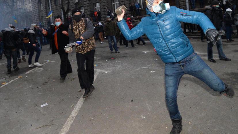 Названы зачинщики беспорядков возле администрации президента Украины