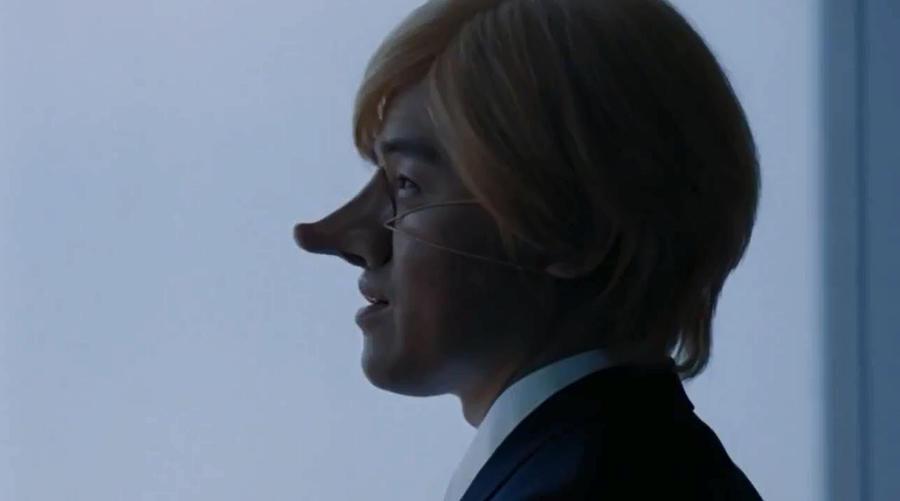 Рекламный ролик японской авиакомпании сняли с эфира из-за накладного носа