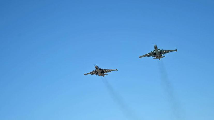 Минобороны: Накануне ВКС РФ поразили в Сирии 206 объектов, войска коалиции — 14