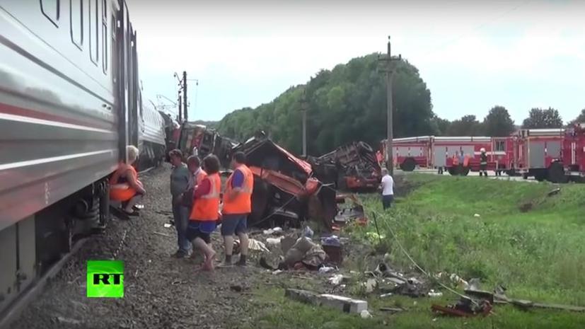 Минтранс предлагает лишать водительских прав за нарушения на железнодорожных переездах