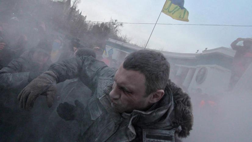 Группа агрессивно настроенных молодых людей разгромила офис партии УДАР на юге Украины