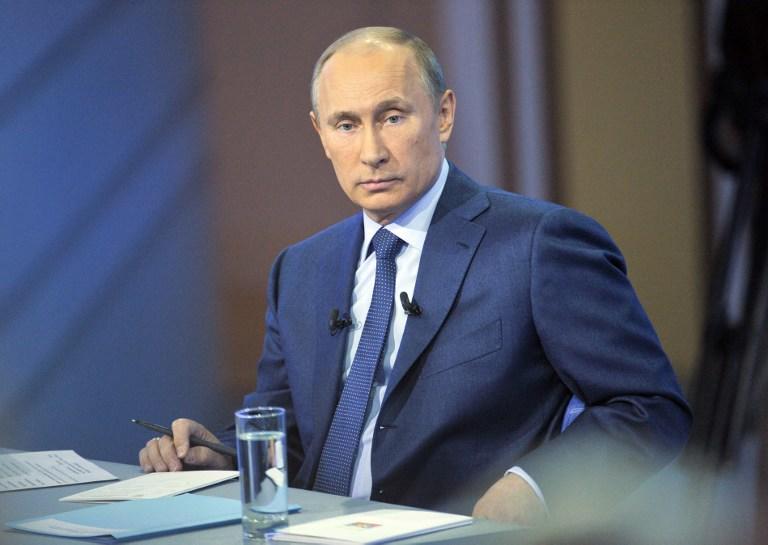 Владимир Путин: За гибель людей в Донбассе ответственны те, кто отдаёт преступные приказы