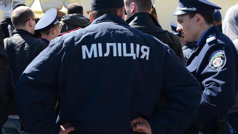 Донецких милиционеров уволят за отказ выполнять приказы из Киева