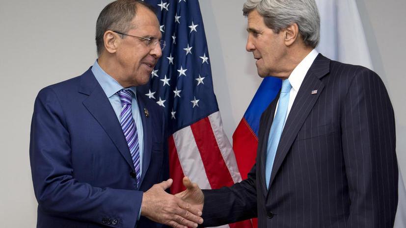 Лавров и Керри обсудили сирийский конфликт
