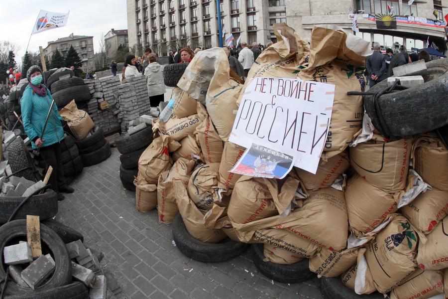 Корреспондент CNN побывал в центре Донецкой республики