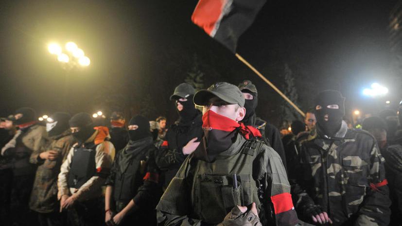 Источник: Украинские силовики рассматривают вопрос о запрете движения «Правый сектор»