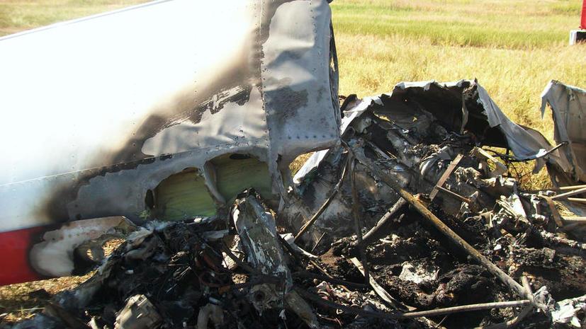 В казахстанском аэропорту разбился учебный самолёт, два человека погибли