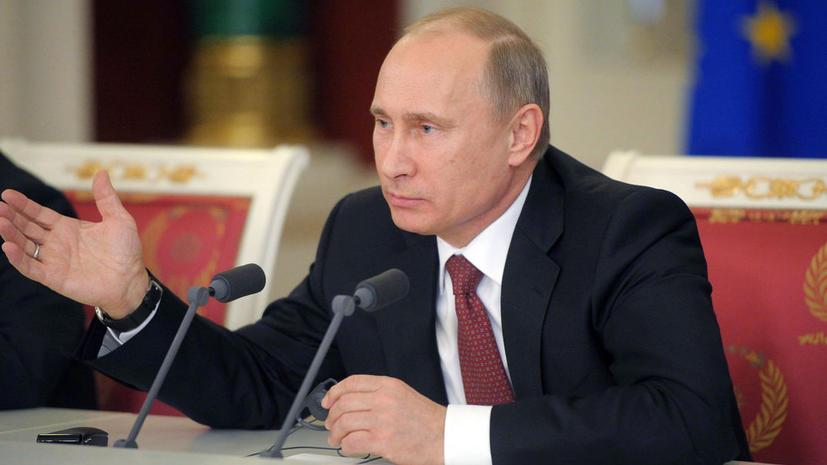 Путин внес в Госдуму законопроект о внесении изменения в порядок выбора депутатов