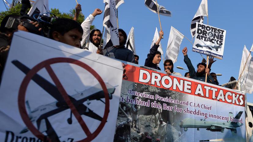 Исследование: В 60% случаев целями американских беспилотников в Пакистане становятся жилые дома
