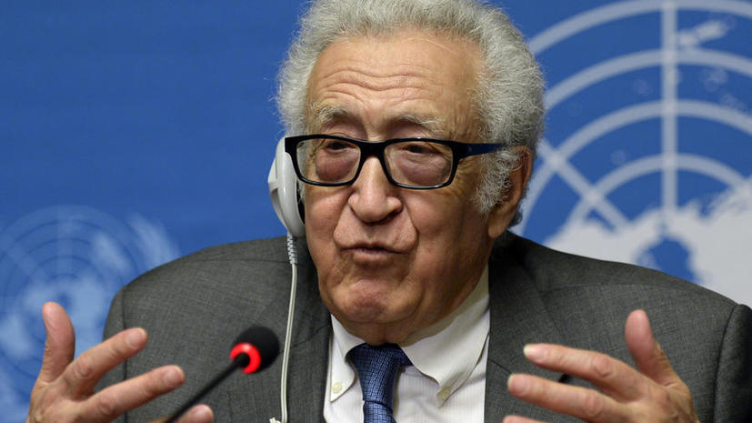 Лахдар Брахими: В понедельник обе стороны переговоров по Сирии сделают общее заявление