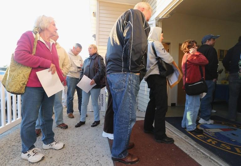 40 тысяч семей в США остаются без крова после «Сэнди»
