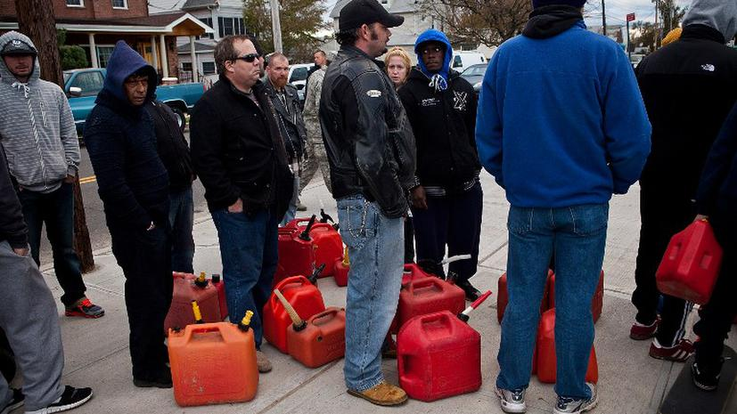 Власти Нью-Йорка ограничивают продажу бензина
