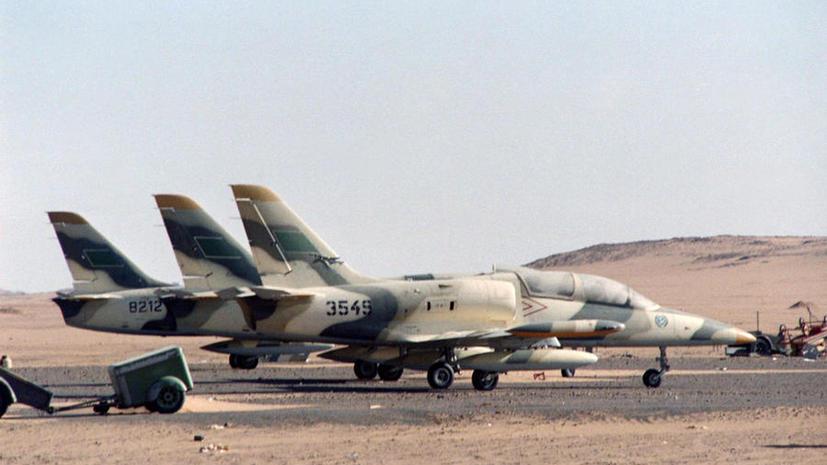 ВВС Ливии нанесли воздушный удар по боевикам, атаковавшим военную базу