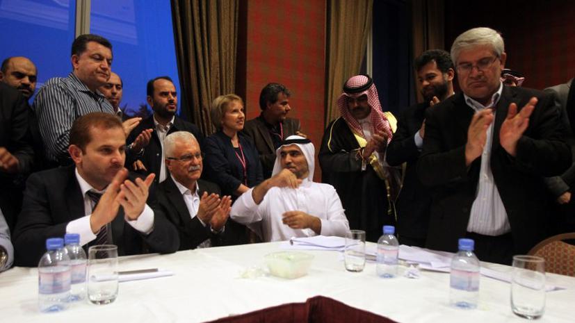 Сирийская оппозиция договорилась о создании единой коалиции
