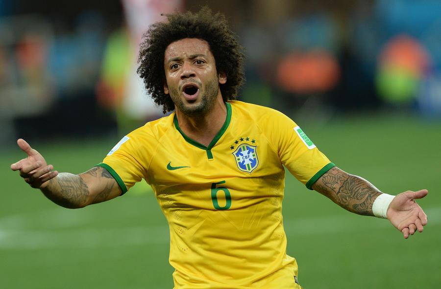 Автогол Марсело в матче открытия ЧМ-2014 вызвал бурю эмоций в социальных сетях