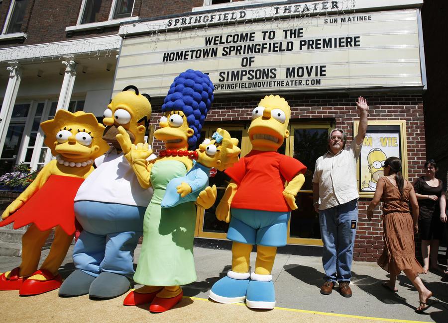 В Калифорнии появился город из «Симпсонов»