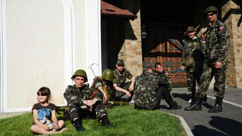 Аэропорт Донецка временно приостановил работу