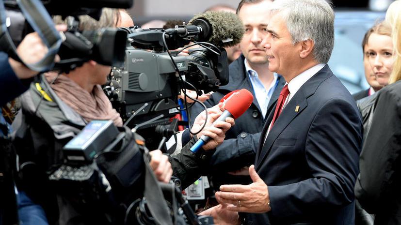 Политики Германии и Австрии высказываются категорически против ужесточения антироссийских санкций