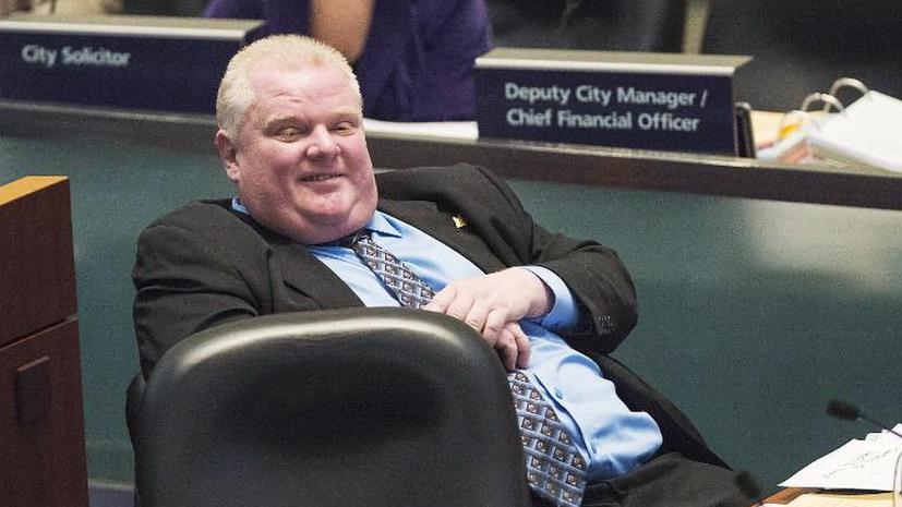 Мэр Торонто Роб Форд лёг в наркологическую клинику