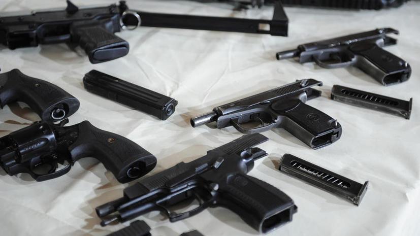 Дума запретит ношение оружия лицам в состоянии алкогольного и наркотического опьянения