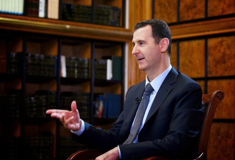 Башар Асад: США, Франция и Великобритания сделали Сирию воображаемым врагом