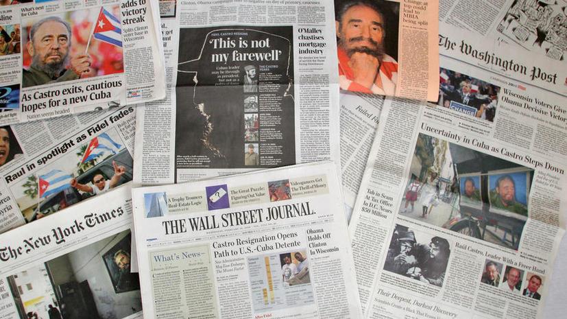 Freedom House: Ситуация со свободой прессы в США стала самой худшей за последнее десятилетие