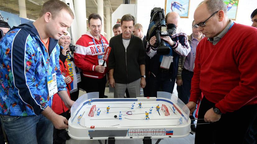 Князь Монако Альбер II пожелал удачи олимпийской сборной России