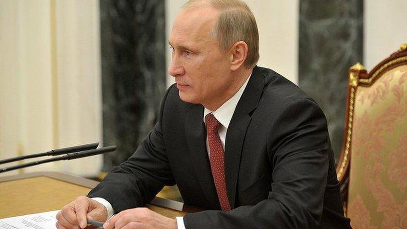 Владимир Путин обсудил с Башаром Асадом по телефону ход уничтожения химоружия в Сирии