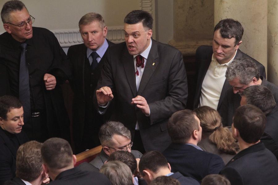 Верховная рада Украины не смогла договориться о возвращении к конституции 2004 года