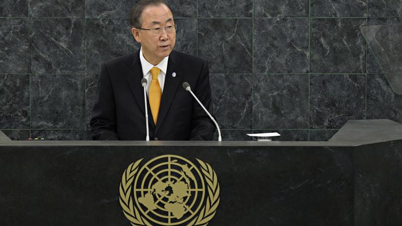 Пан Ги Мун: ООН требует от Израиля прекратить поселенческую активность