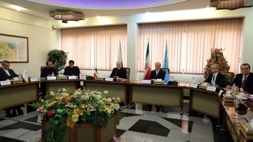 Следующая встреча представителей Ирана и МАГАТЭ пройдёт в Вене 11 декабря