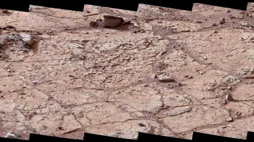 Марсоход Curiosity возьмет пробы марсианского грунта