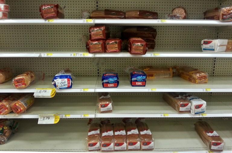 Конфликт на Украине угрожает британским ценам на хлеб