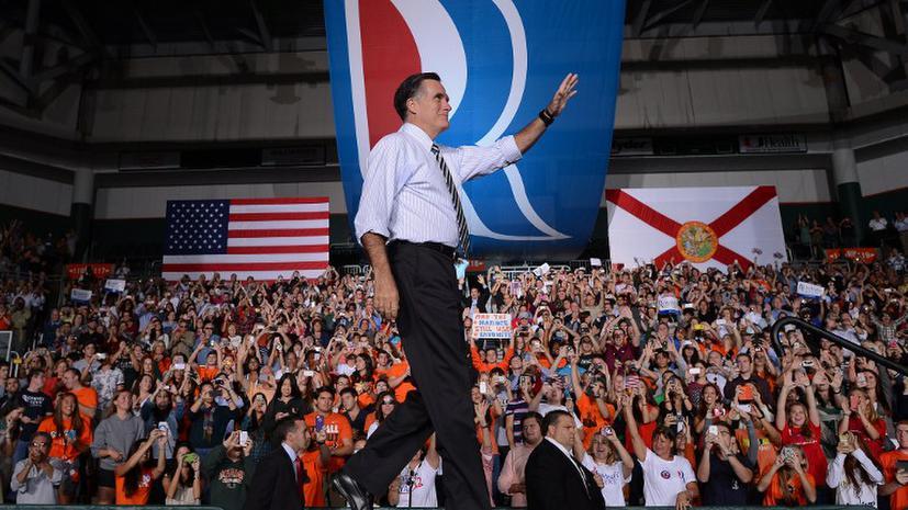 Американец удалит с лица тату с логотипом кандидата Ромни