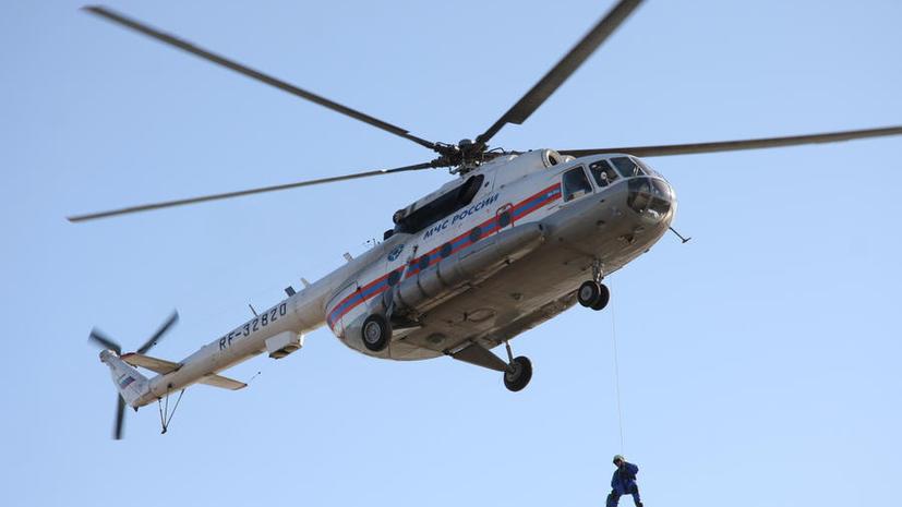 В Хабаровском крае потерпел крушение вертолёт Ми-8, все пассажиры живы