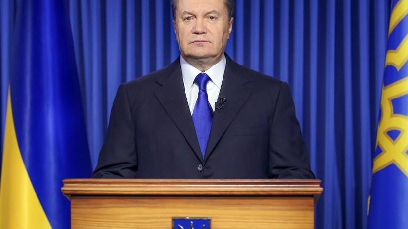 Виктор Янукович инициировал досрочные президентские выборы на Украине