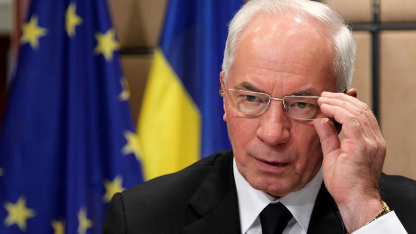 Николай Азаров: Как украинцы могут выдержать бред и брехню Яценюка?