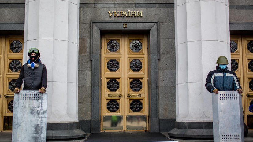 На Украине могут запретить Партию регионов и Коммунистическую партию