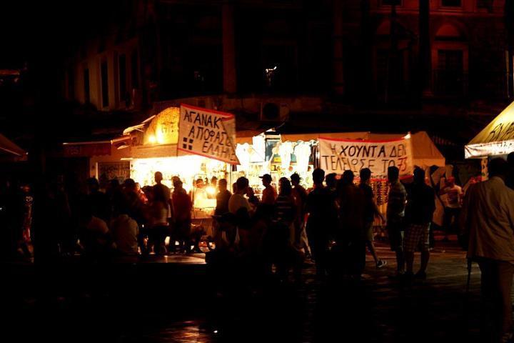 Кризис повысил популярность Греции в мировых СМИ