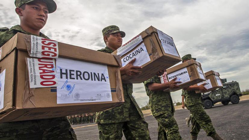 Правительство США сотрудничало с мексиканским наркокартелем ради информации о его конкурентах