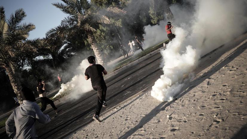 Обнародован секретный документ Бахрейна о тендере на поставку слезоточивого газа